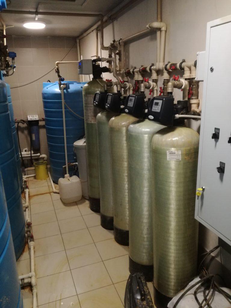 Комплекс водоподготовки на предприятии