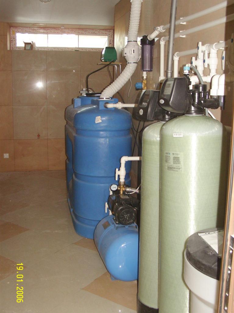 Комплекс очистки воды от радона