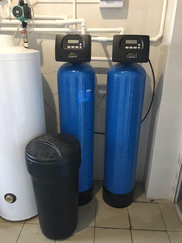 Фильтр мягчитель и фильтр для удаления железа